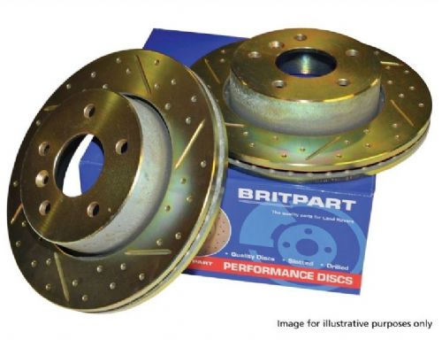 Discovery 4 - Front Uprated Brake Discs - DA4624